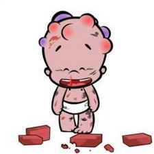 可爱搞笑的小破孩qq卡通人物头像