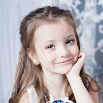 純真無邪的歐美小女孩qq意境頭像圖片