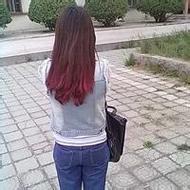 甜美迷人的qq女生背影頭像圖片