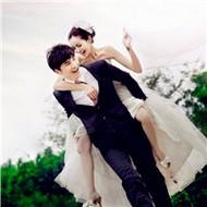 甜蜜蜜的qq情侣婚纱头像图片欣赏