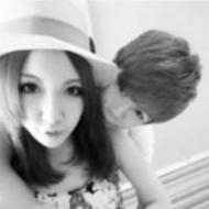 喜欢自拍的90后情侣qq黑白头像图片
