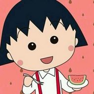 可愛的櫻桃小丸子微信卡通頭像大全
