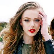 欧美风诱人美女微信红唇头像图片