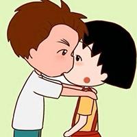小清新可愛卡通情侶qq頭像圖片大全