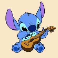 可爱蓝色外星动物史迪仔卡通头像大全