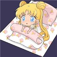 Q版可愛卡通qq美少女戰士頭像圖片