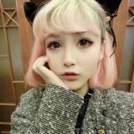 日本卡哇伊女生杀马特微信头像图片