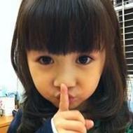 超萌可爱的小孩qq空间黑白头像图片