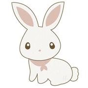 清新可爱的兔子简约qq头像图片大全