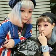 日本非主流qq闺蜜原宿风头像图片
