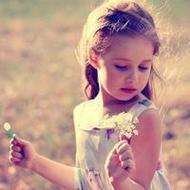 清新萝莉可爱的欧美小孩qq头像图片