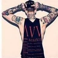 有个性的欧美男生纹身微信头像图片