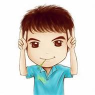 陽光可愛Q版小男孩qq卡通頭像圖片