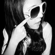 非主流超拽女生qq貼吧黑白頭像圖片