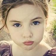 歐美可愛賣萌的小女孩qq頭像圖片大全