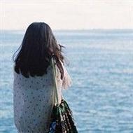 小清新女生背影海边唯美qq头像图片