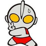 Q版可爱搞怪的奥特曼qq卡通超人头像