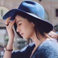 时尚靓丽戴帽子的女生微博贴吧头像
