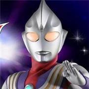 日本經典動漫迪迦奧特曼超人頭像