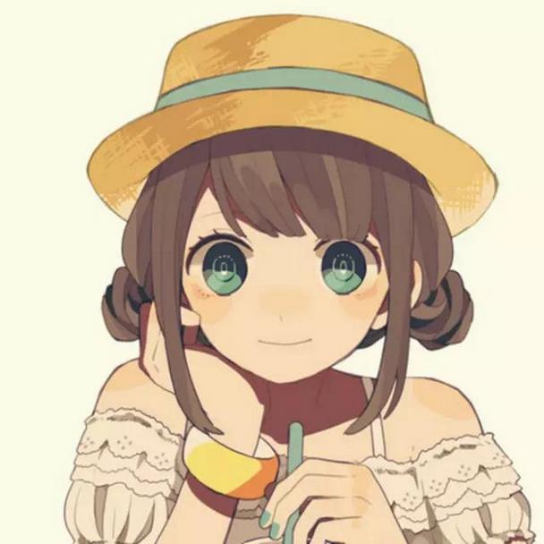 甜美可愛動漫女生qq卡通動畫頭像圖片