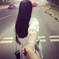 非主流情侣背影qq头像一前一后图片