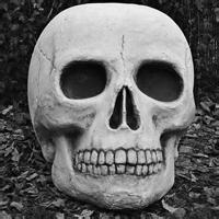 超级邪恶恐怖的微信骷髅头像图片