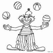 简笔划经典繁复qq小丑卡通头像图片