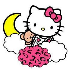 可爱卡通萌妹子kitty猫qq头像大全