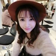 戴帽子的清纯萌妹子qq头像图片