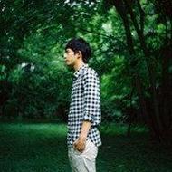 小清新男生qq唯美綠色景色頭像圖片