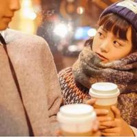 暖心画面的韩国情侣唯美qq头像图片