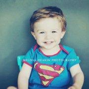 萌趣可愛的歐美超人寶寶qq頭像圖片