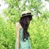 小清新森系女生唯美绿色风景头像图片