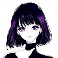 清爽繁复的短发卡通女生qq头像图片