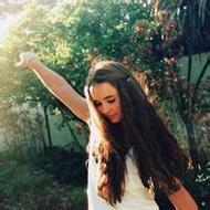 欧美森系女生唯美意境微信头像图片