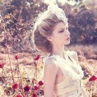 暖色系歐美風格唯美女生qq頭像圖片