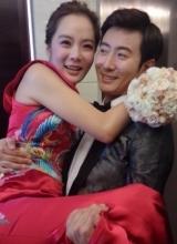 高梓淇蔡琳結婚現場曝光 新娘感動落淚