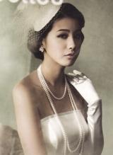 韩国女演员刘仁英婚纱写真