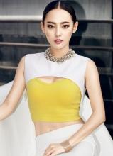 張嘉倪全新時尚大片 性感嬌俏完美呈現