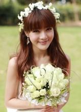 邓家佳在爱情公寓3新娘外型剧照