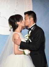 吳京謝楠婚禮激情熱吻 武打小生喜當爹