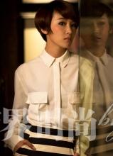谢楠商界时尚杂志大片 演绎魅力职场女性