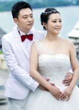 郝蕾劉燁婚紗照首度曝光 唯美夢幻恩愛甜蜜