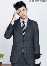 李玹雨朴炯植男装品牌代言写真