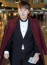 Super Junior李晟敏机场时尚
