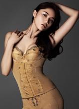 王熙然塑形内衣大片 前凸后翘完美身材