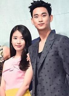 金秀贤IU等出席《制作人》发布会 车太贤孔孝真频互动
