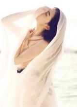 国民美女张辛苑仙女造型出席品牌开幕式