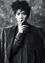 SHINee珉豪W杂志帅气写真