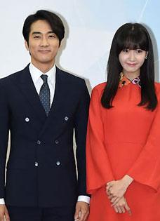 少女时代允儿与男神宋承宪共同出任韩国国税大使